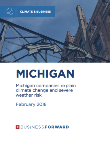 Michigan companies explain climate change and severe weather risk