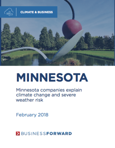 Minnesota companies explain climate change and severe weather risk